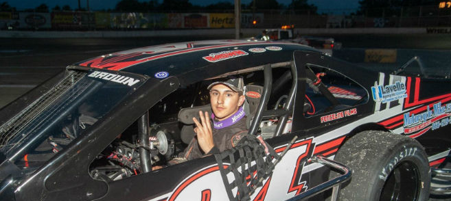 Meet Justin Brown: NYS and Riverhead Raceway 'Rookie of the Year'